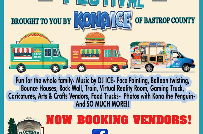 Food Truck Festival 2020.2nd Annual Bastrop County Food Truck Festival Bastrop Tx