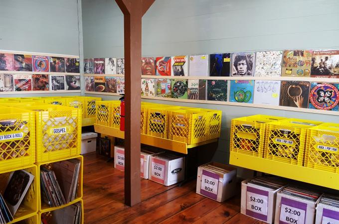 Astro Record Store