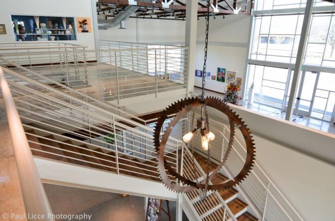 Lost Pines Art Center Interior Pic