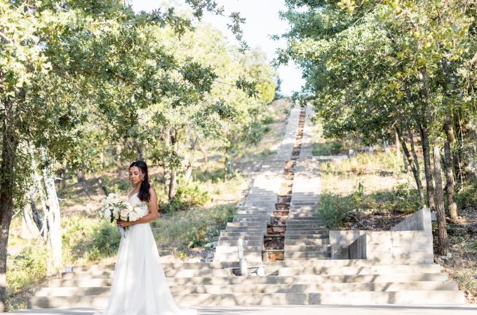 Hidden Staircase at Shiraz Garden