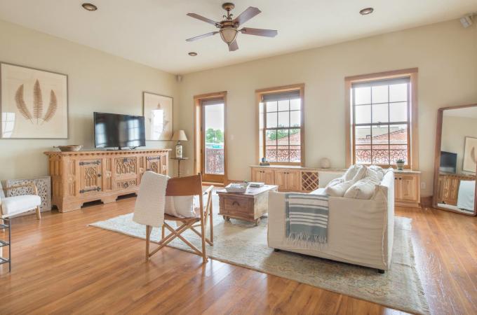 One Room Loft Living Area