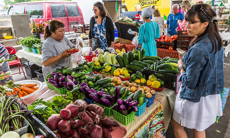 Overland Park Farmers Market Midwest Vacation Idea