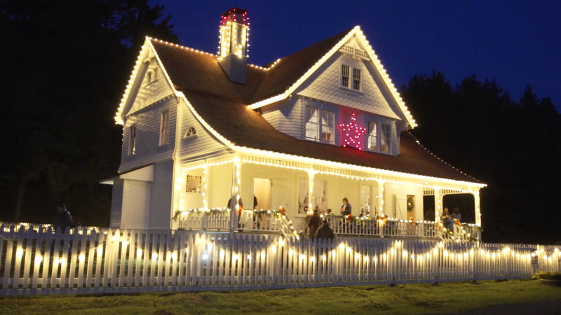 Heceta Lighthouse B&B Holiday Lights