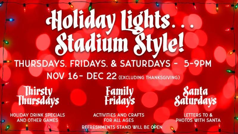 Holiday Lights Stadium Style