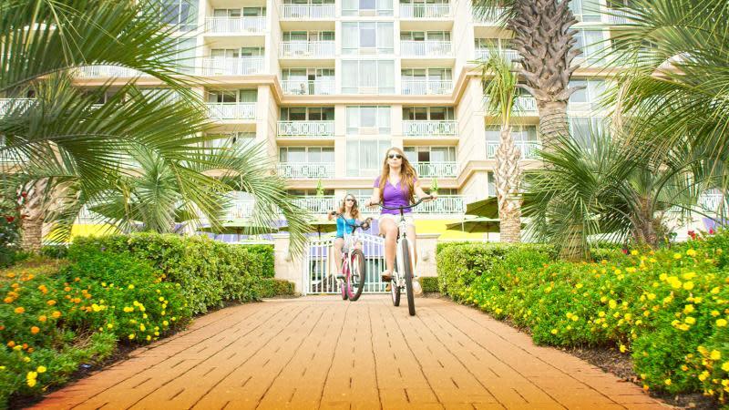 Bike Ride on the Virginia Beach Boardwalk