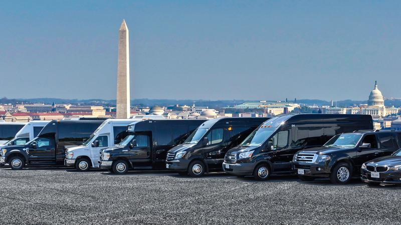 Fleet of Transportation Vehicles In Alexandria