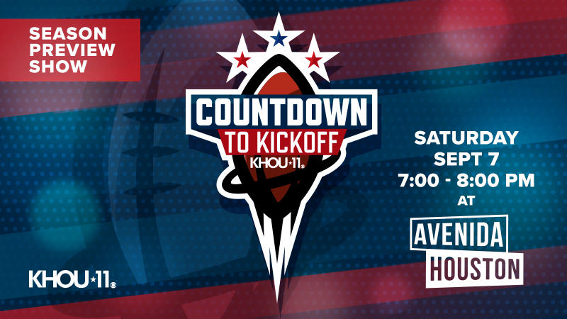 KHOU's Countdown to Kickoff Watch Party
