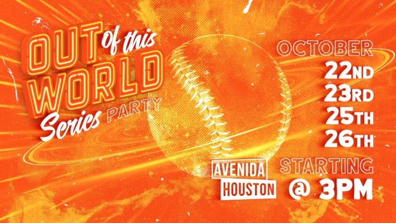 Out of this World Series party