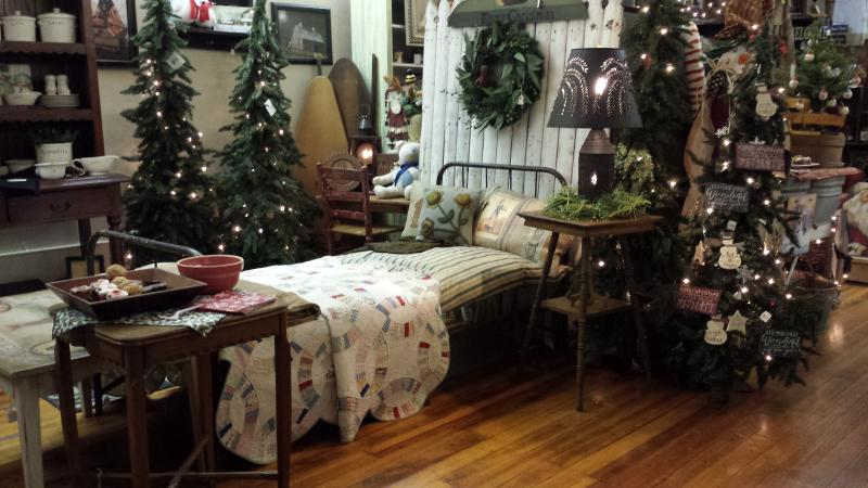Holiday Open House at Berries & Ivy Country Store is the first Saturday in November.