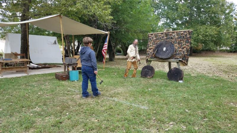 Meet historic characters and participate in fun activities at the annual Waverly Park Festival.