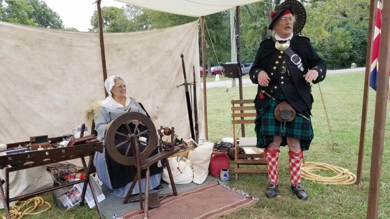 Immerse yourself in history with reenactors at the Old Town Waverly Park Festival.