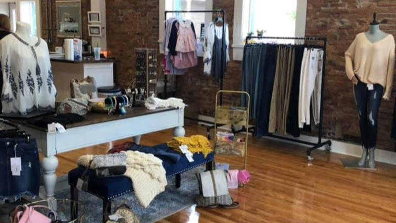 Her Boutique (and the adjacent Her Littles) will host a holiday open house, Nov. 1-3, 2019.