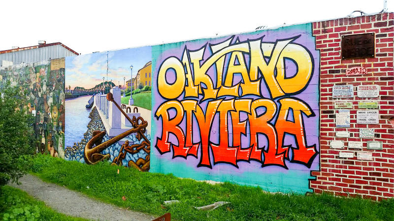 Oakland Riviera Mural Photo