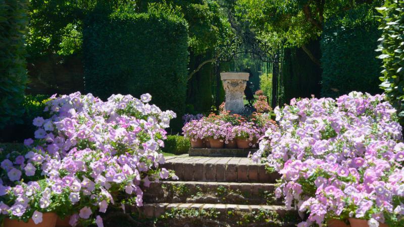 Sundial Garden at Filoli
