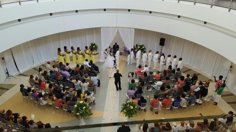 Tubman Museum Wedding