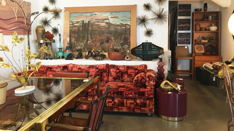 palm springs vintage shopping - gypsyland