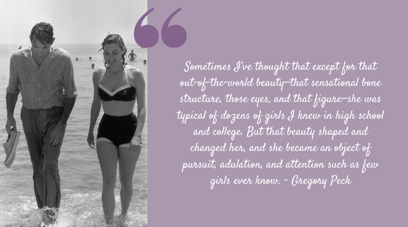 Ava Gardner quote from her life-long friend, Gregory Peck.