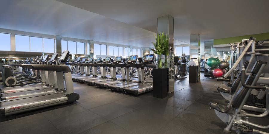 Grand Hyatt Melbourne City Club gym
