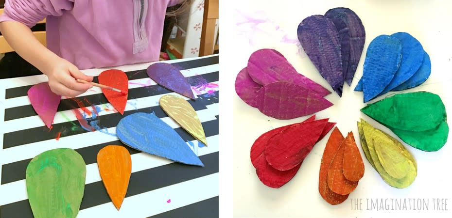 rainbows craft 1