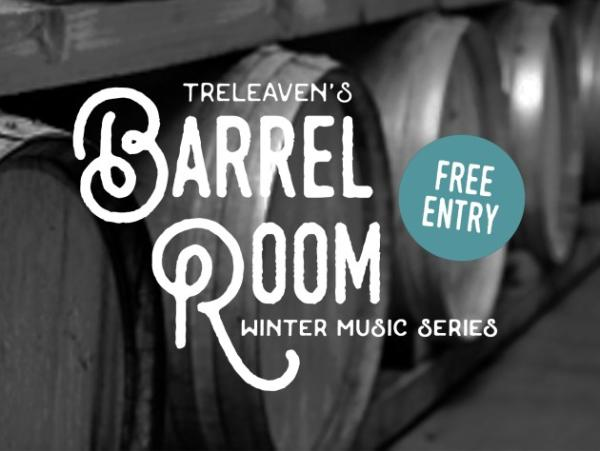 Treleaven Wines Barrel Room Winter Music Series Logo