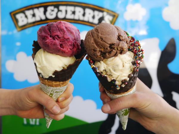 Pedalfest free ice cream