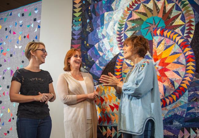 National Quilt Museum Gallery Tour
