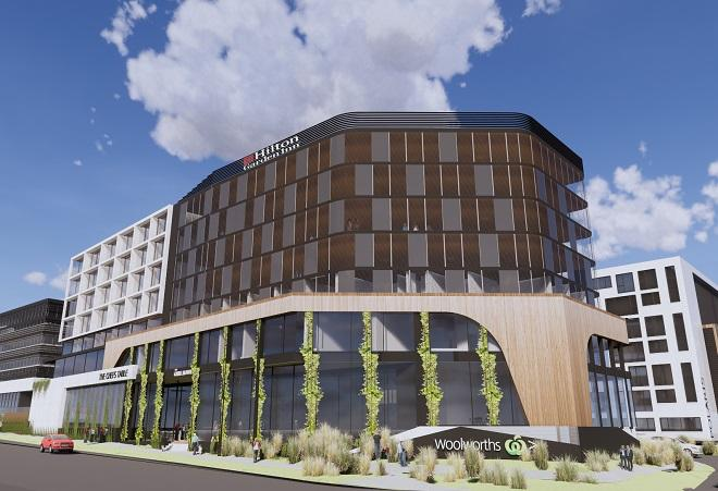 Hilton hotel to open in Melbourne's north in 2021