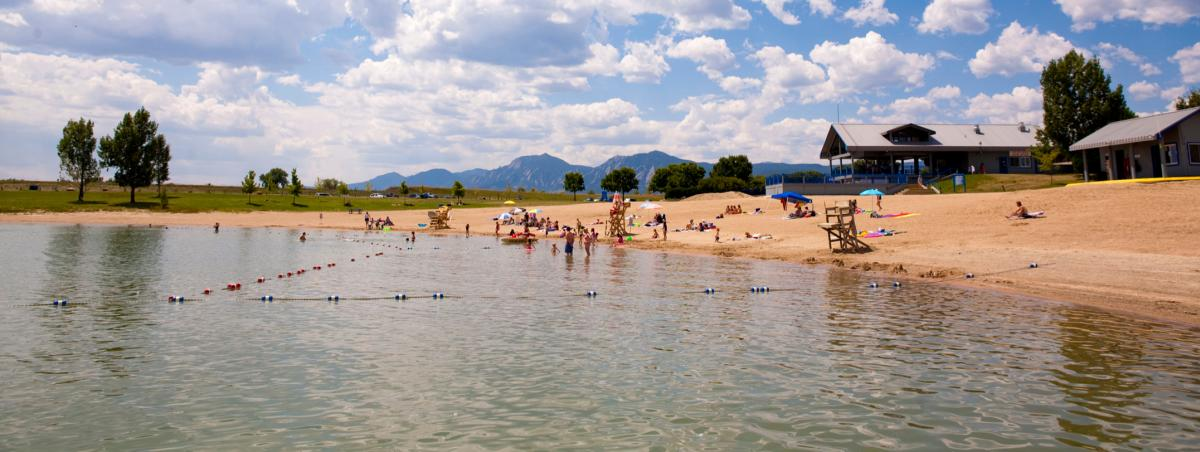 Boulder Reservoir Beach