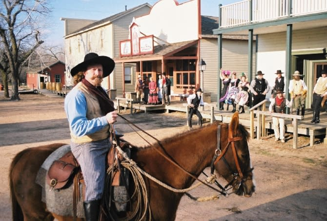 Blog Old Cowtown Museum Randy and Town