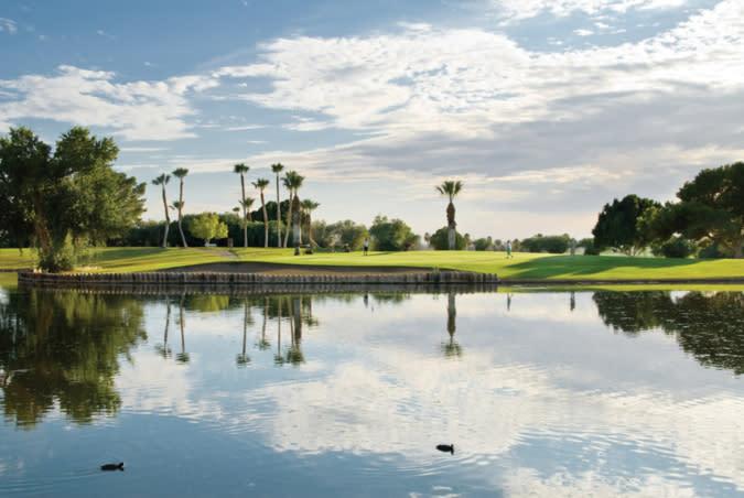 Desert Hills Golf Course Pond-1