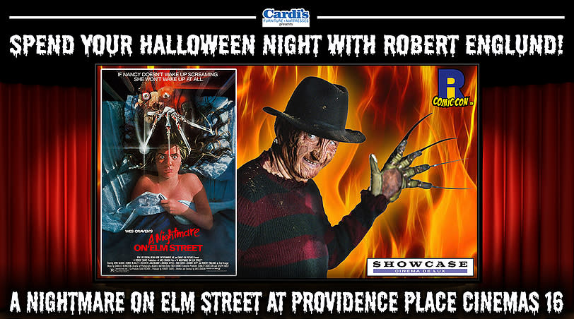 Nightmare on Elm Street Screening with Robert Englund