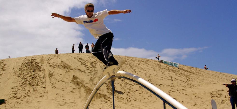 Oregon Coast Sandboarding Sand Surfing Eugene Cascades