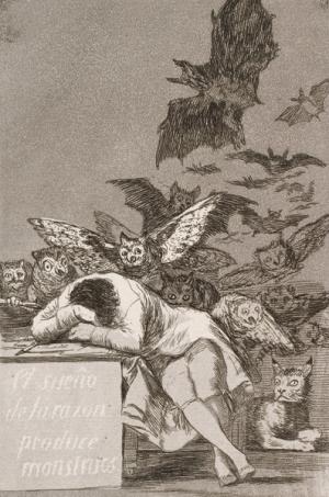 Francisco Goya y Lucientes (Spanish, 1746–1828), El Sueño de la Razon