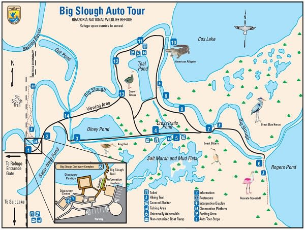 Brazoria Big Slough Map