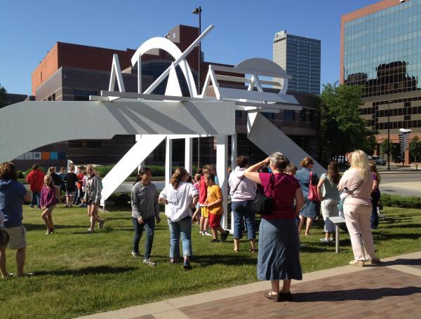 Outdoor Exhibits at Fort Wayne Museum of Art
