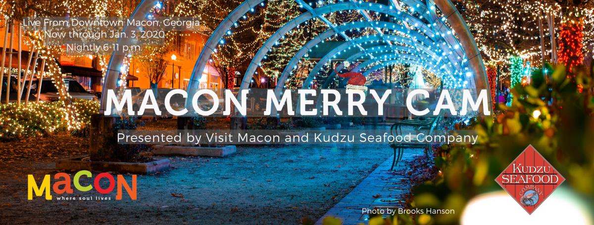 Macon Merry Cam Banner