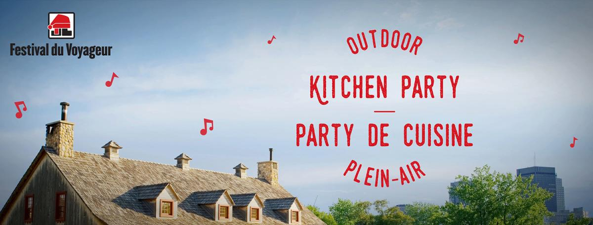 Outdoor Kitchen Party at Fort Gibraltar