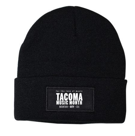 Tacoma Music Month official beanie