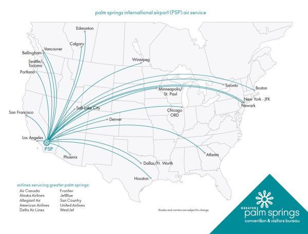PSP Direct Flights