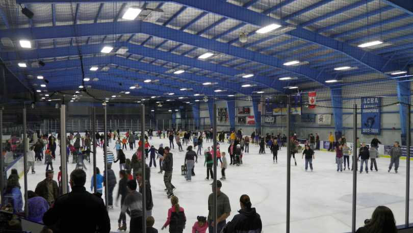 Boss Ice Skating Arena in Kingston