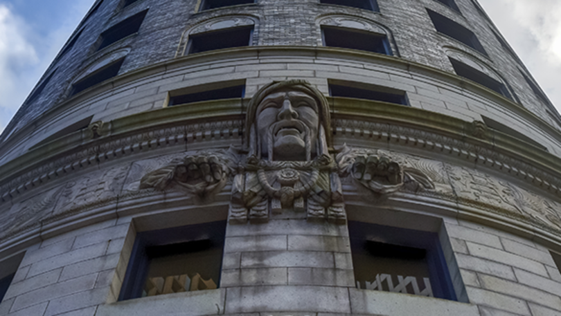 Historic Downtown Providence Walking Tour: Turk's Head Building