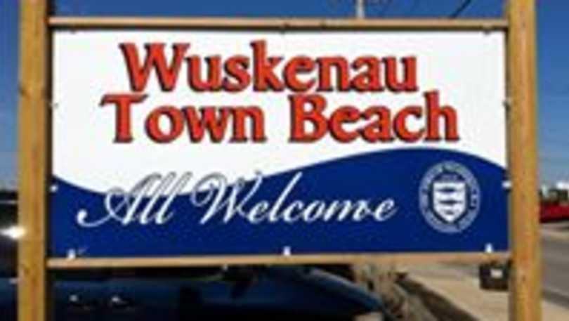 Wuskenau Town Beach