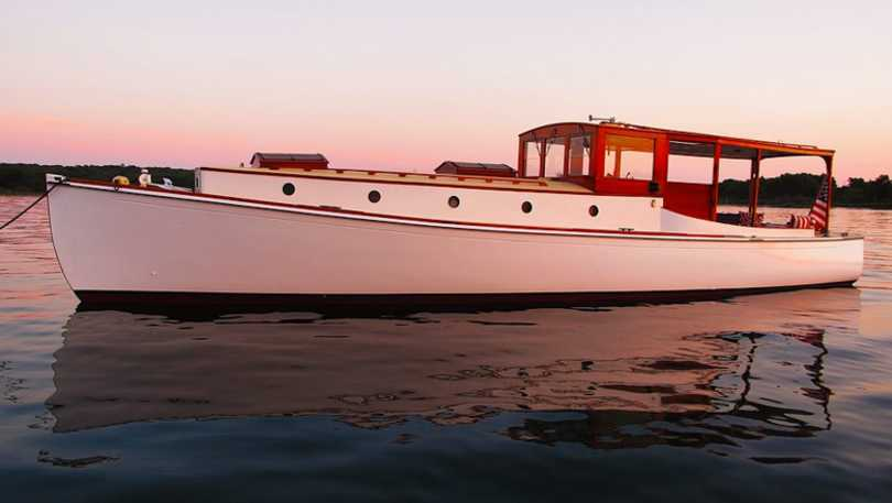 Antique Yacht