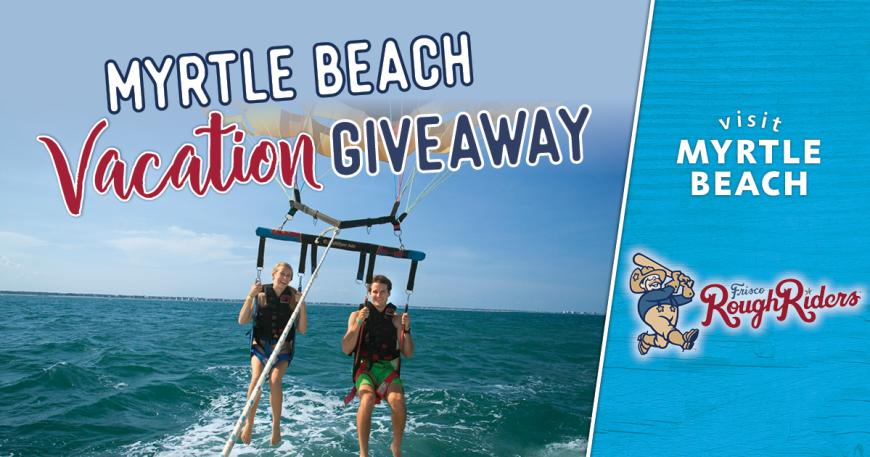 Frisco RoughRiders Vacation Giveaway