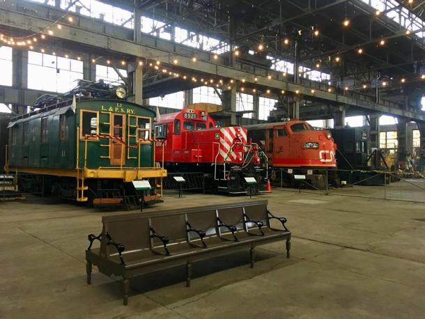 trains at Railway Museum