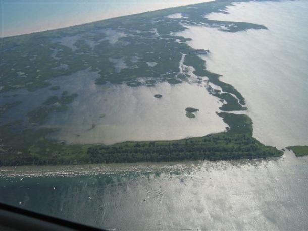 Long Point Aerial