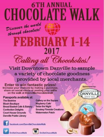 2017 Danville Chocolate Walk