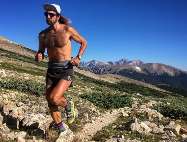 Anton Krupicka, Athlete in Residence, Trail Run