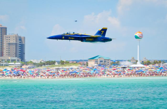 Blue Angel from the Pier