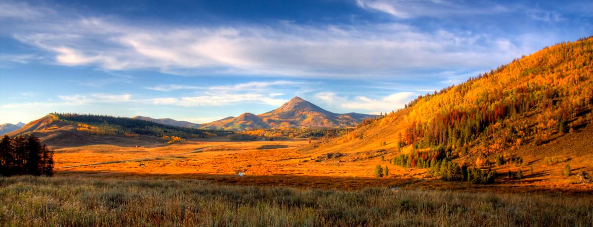 Hahns Peak in the Fall